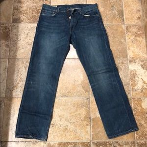 Men's polo jeans size 33x32 lightly worn
